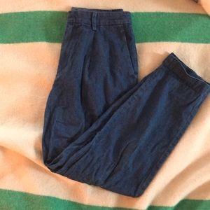 Uniqlo Chambray Trousers